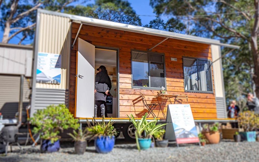 Tiny House Exterior - Beach Shack by Tiny Homes Tilba Australia