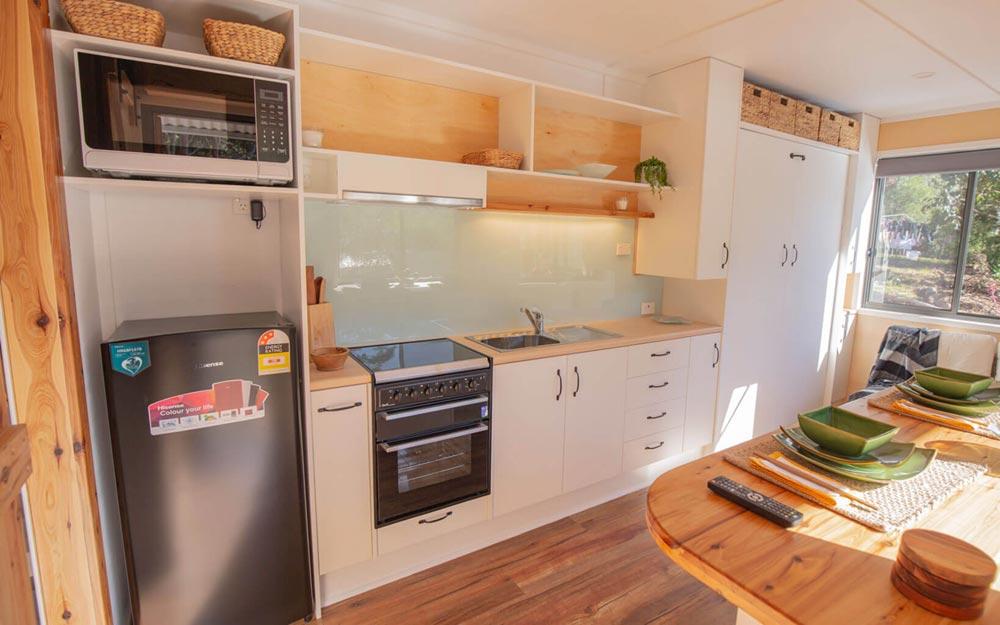 Kitchen - Beach Shack by Tiny Homes Tilba Australia