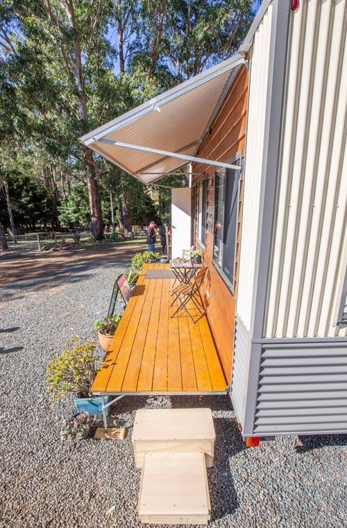 Deck & Veranda - Beach Shack by Tiny Homes Tilba Australia