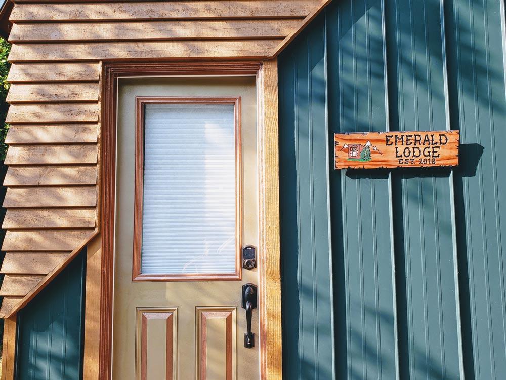 Metal & Cedar Siding - Emerald Lodge by Pocket Mansions