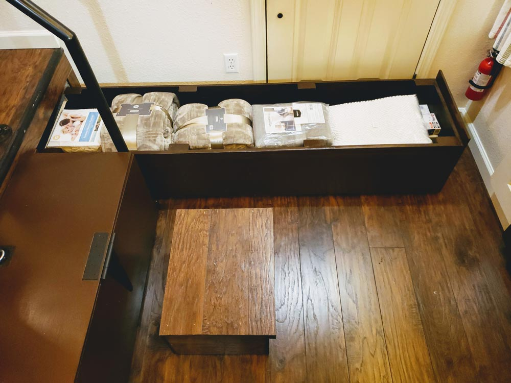 Hidden Storage - Emerald Lodge by Pocket Mansions