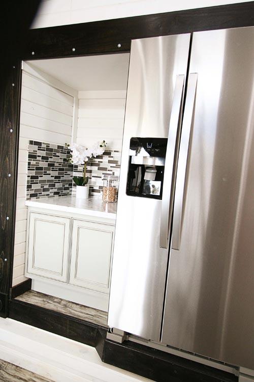 Refrigerator - Family-Friendly Carpathian by Tiny Idahomes
