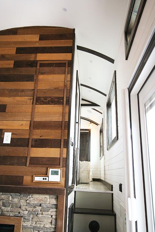 Hallway to Bedroom - Family-Friendly Carpathian by Tiny Idahomes