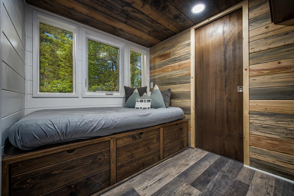 Main Floor Bedroom - Grizzly by Backcountry Tiny Homes