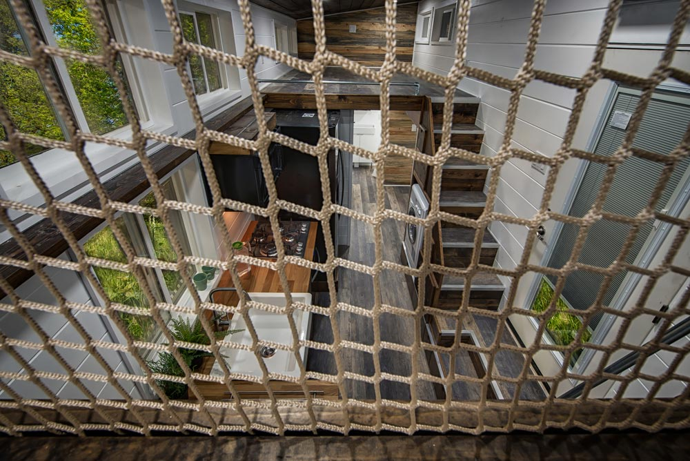 Net Wall - Grizzly by Backcountry Tiny Homes