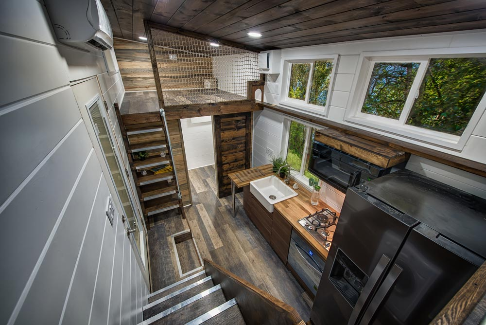 Tiny House Interior - Grizzly by Backcountry Tiny Homes