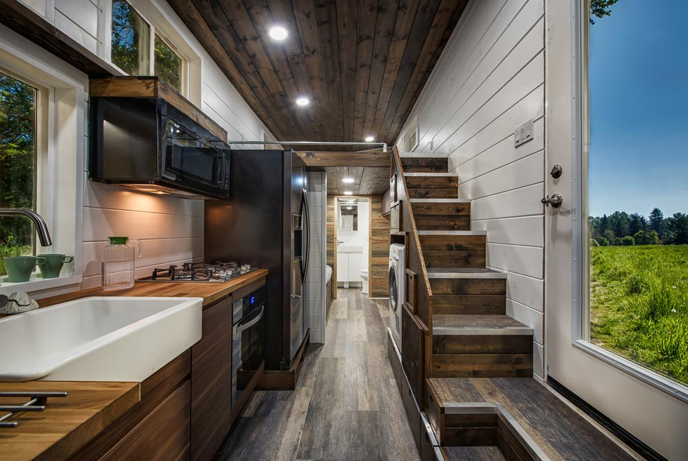 Kitchen & Entry - Grizzly by Backcountry Tiny Homes