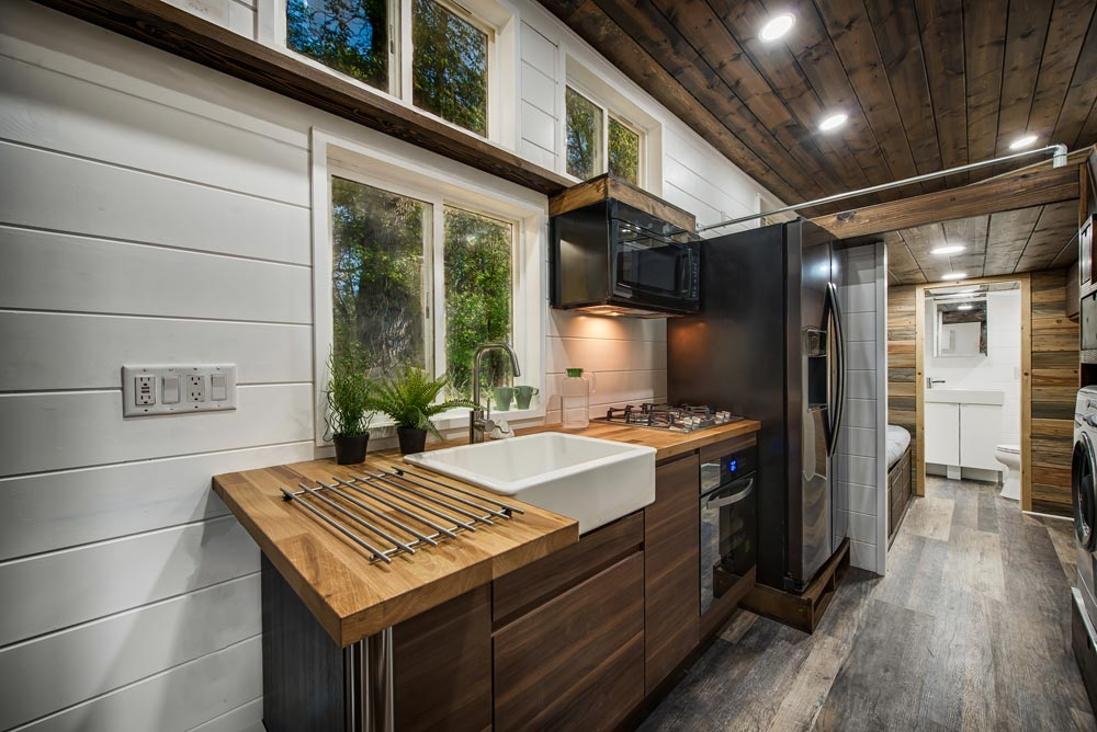 Butcher Block Counters - Grizzly by Backcountry Tiny Homes