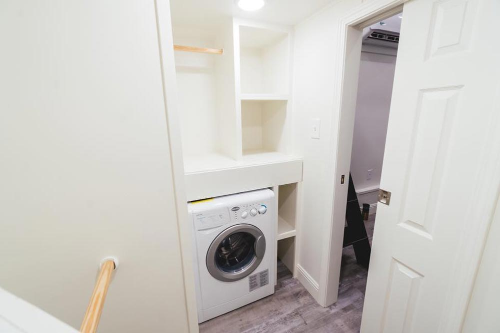 Laundry Area - Mount Diablo by California Tiny House