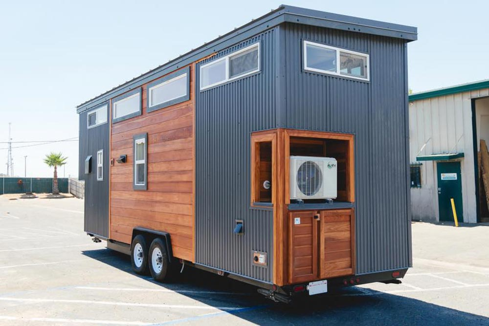 Metal & Redwood Exterior - Mount Diablo by California Tiny House