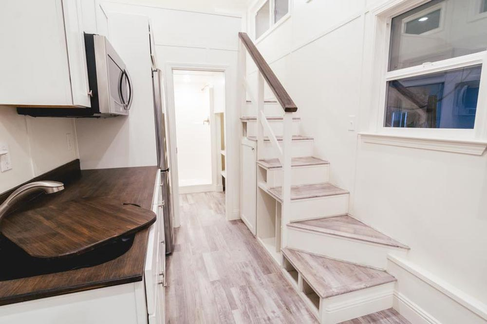 Storage Stairs - Mount Diablo by California Tiny House