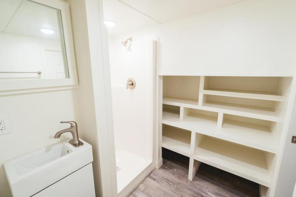 Bathroom Storage - Mount Diablo by California Tiny House