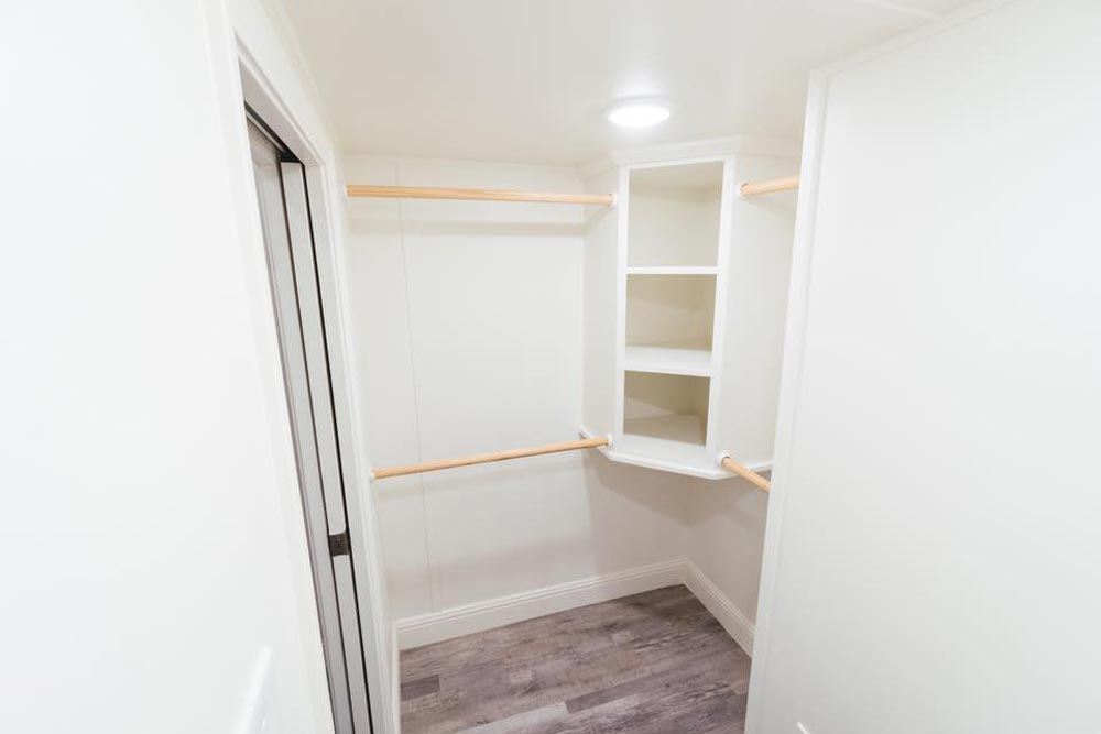 Walk-In Closet - Mount Diablo by California Tiny House