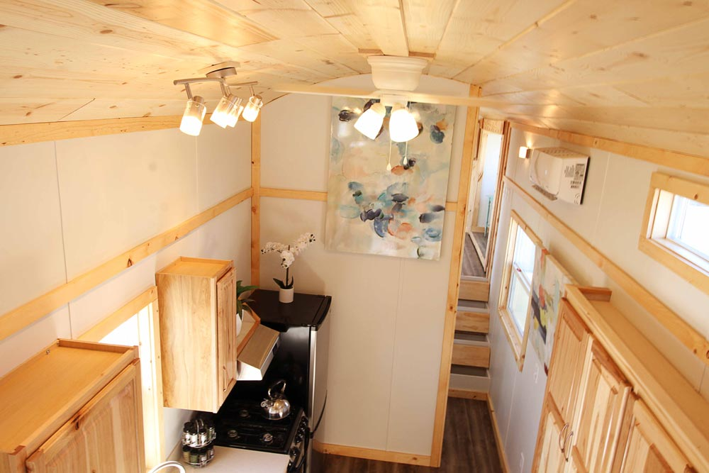 Arched Ceiling - Mountain Top Retreat by Tiny Idahomes