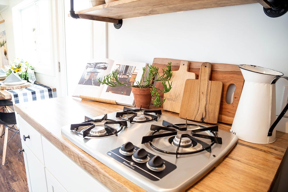 Propane Cooktop - Rumspringa by Liberation Tiny Homes