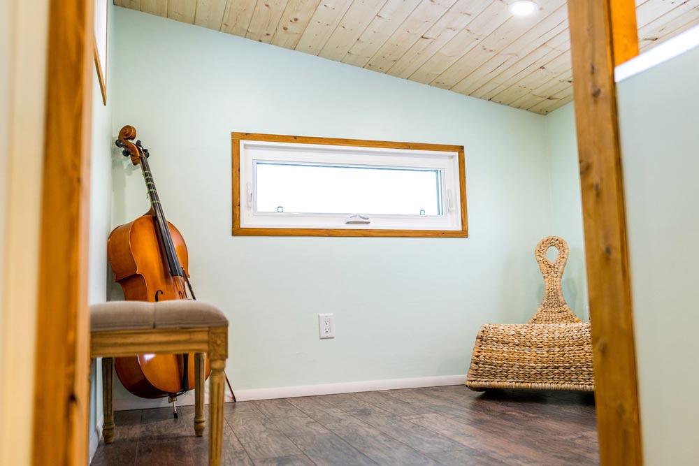 Loft Over Gooseneck - Tiny Show Home by Vagabond Tiny Homes