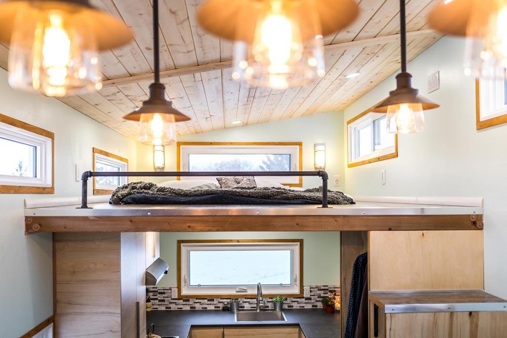 Bedroom Loft - Tiny Show Home by Vagabond Tiny Homes