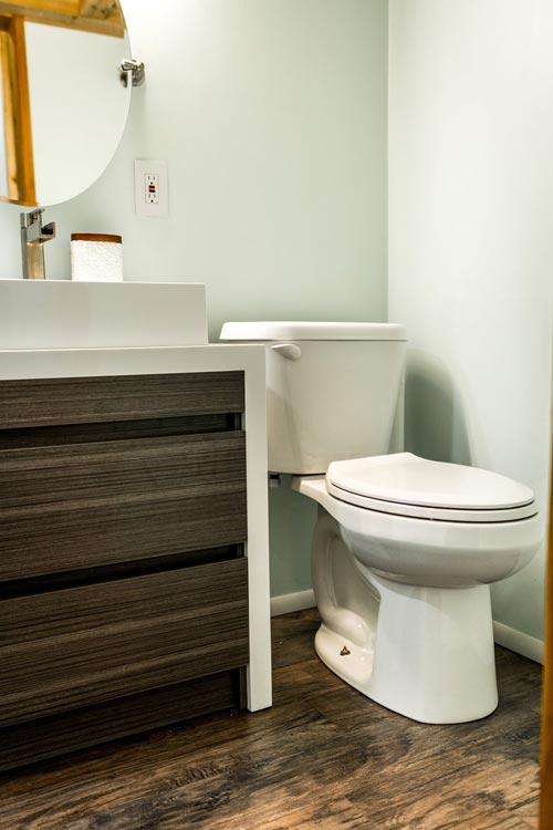 Bathroom - Tiny Show Home by Vagabond Tiny Homes