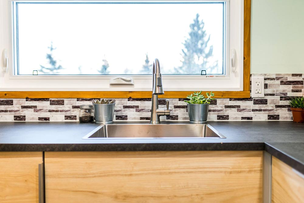 Kitchen Sink - Tiny Show Home by Vagabond Tiny Homes