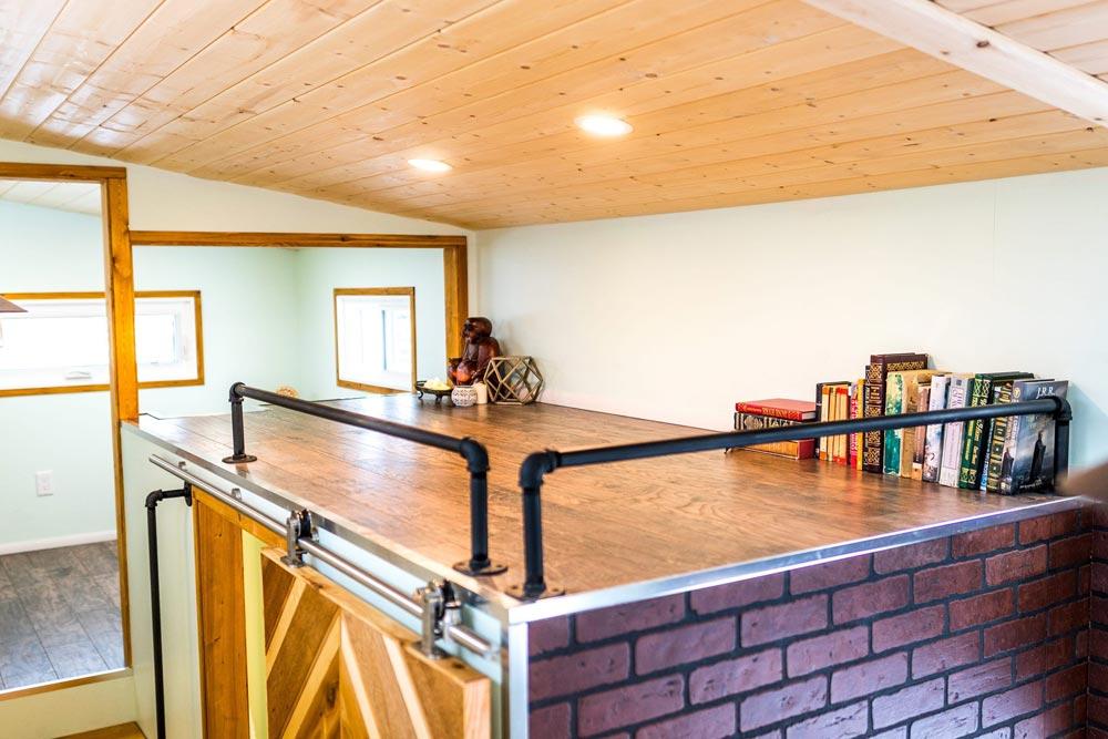 Storage Loft - Tiny Show Home by Vagabond Tiny Homes
