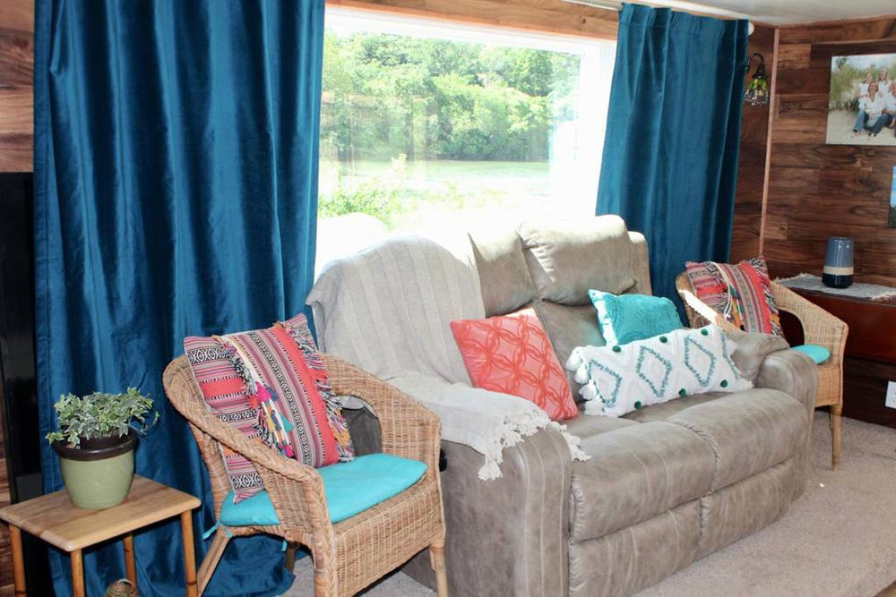 Seating Area - Bohemian Bungalow by Hill Country Tiny Houses