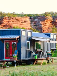 Exterior View - Bohemian Bungalow by Hill Country Tiny Houses