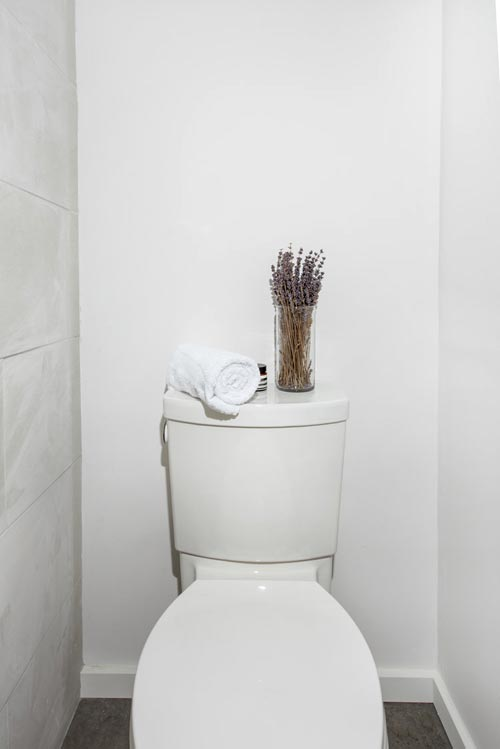 Flush Toilet - Calico by Katz Box