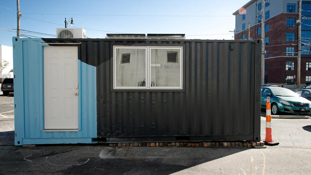 Shipping Container Tiny Home - Calico by Katz Box