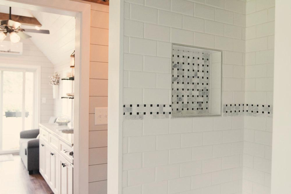 Tile Shower - Dream by Big B's Tiny Homes