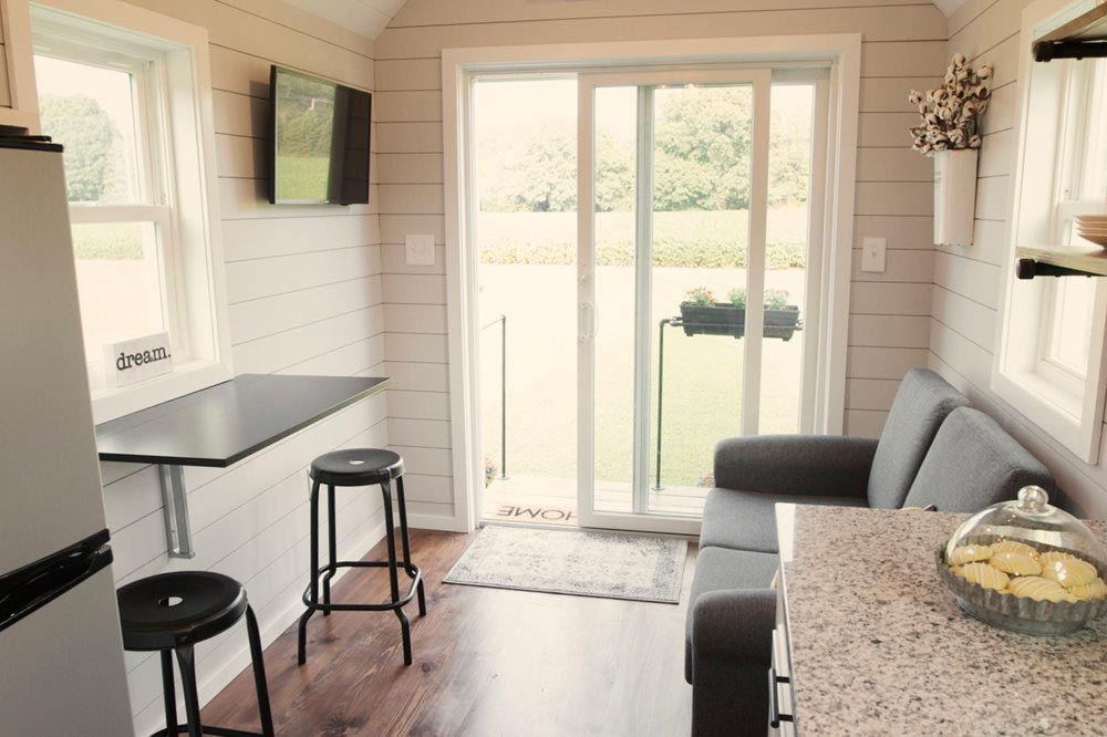 Sliding Entry Door - Dream by Big B's Tiny Homes