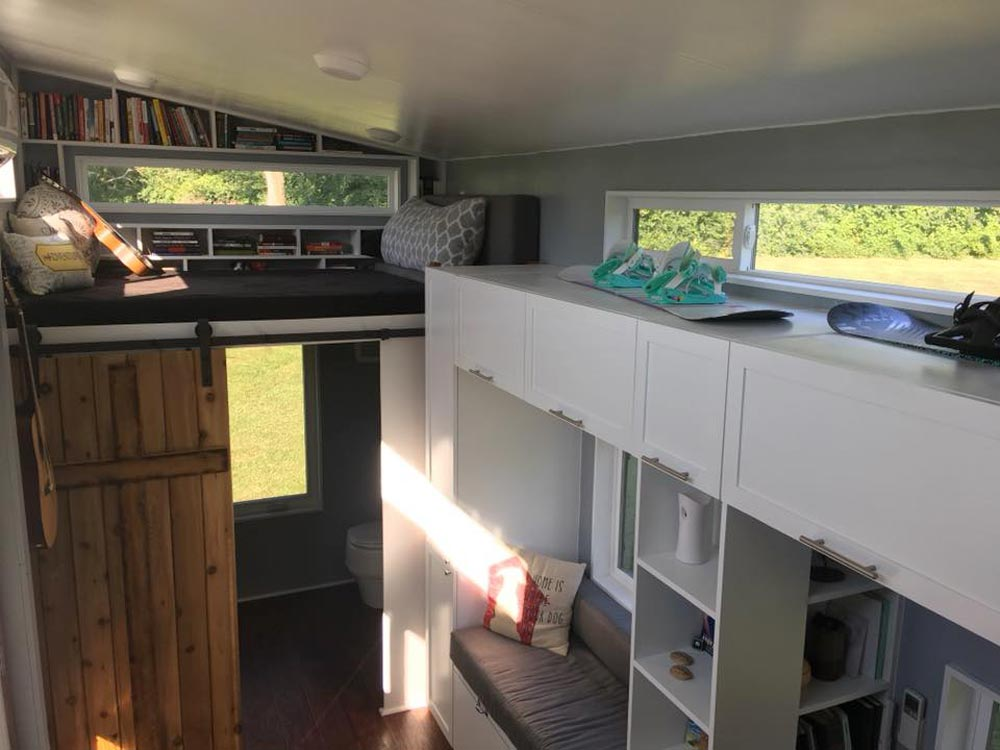 Storage & Loft - Expedition by Maverick Tiny Homes