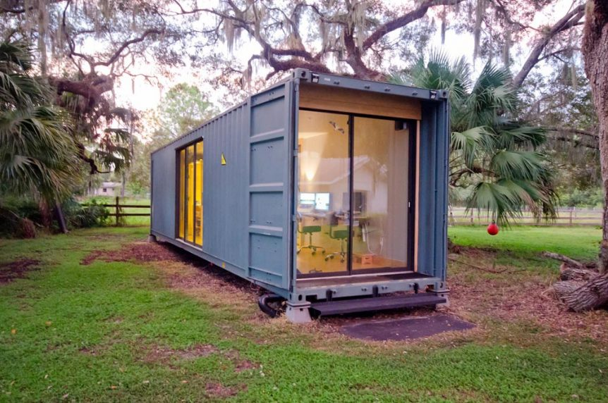 hâB Shipping Container Tiny Home