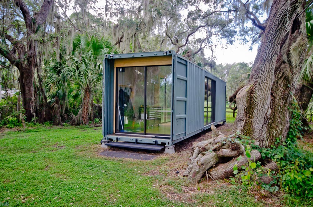 Hab Shipping Container Tiny Home Tiny Living