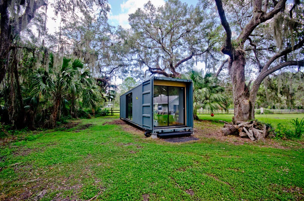 Recycled Container - hâB Shipping Container Tiny Home