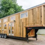 Heather's 37′ Gooseneck Tiny House by Mitchcraft Tiny Homes
