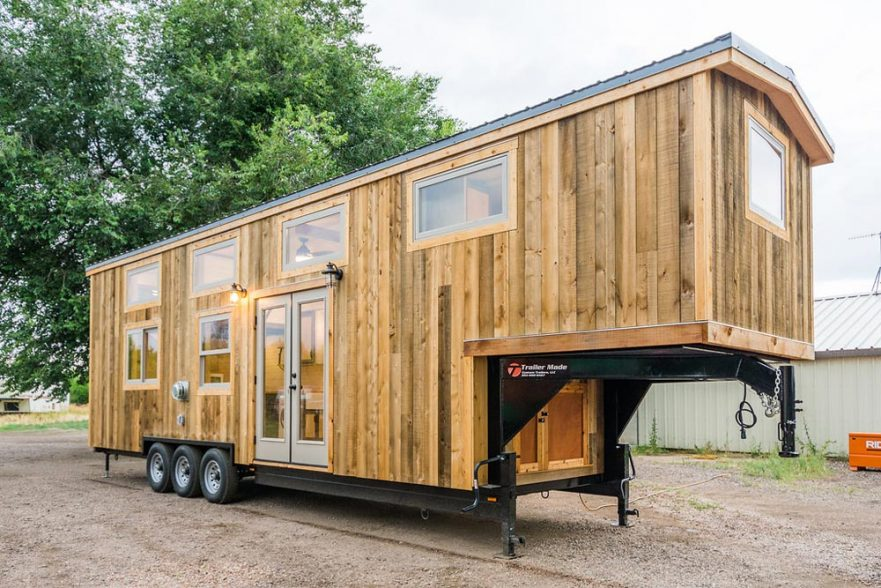 Heather's 37' Gooseneck Tiny House by Mitchcraft Tiny Homes