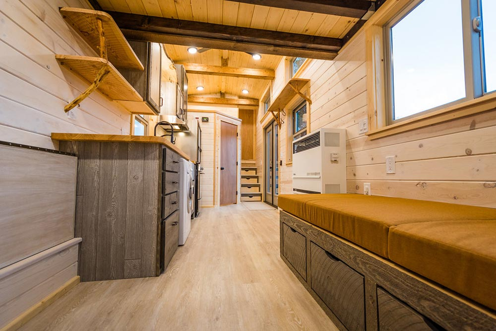 Interior View - Heather's 37' Gooseneck Tiny House by Mitchcraft Tiny Homes