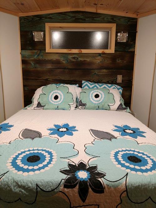 Queen Bedroom - Luxury 40 by Hummingbird Tiny Housing