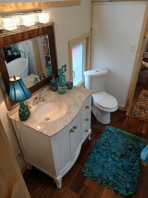 Vanity w/ Drawers - Luxury 40 by Hummingbird Tiny Housing