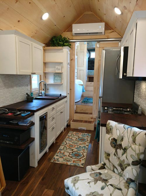Galley Kitchen - Luxury 40 by Hummingbird Tiny Housing