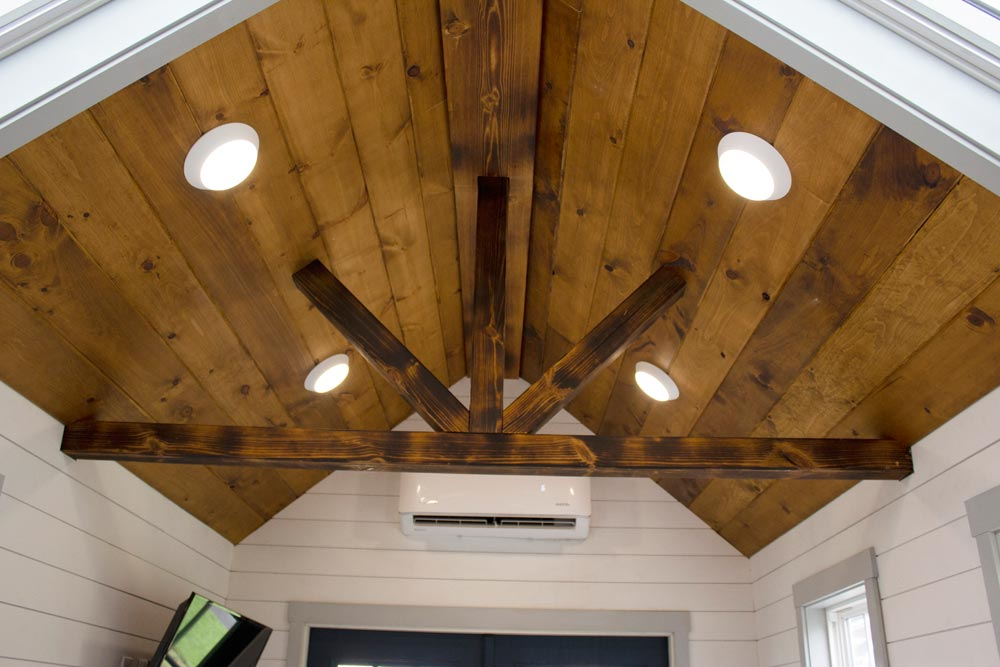 Stained Ceiling - Maverick by Maverick Tiny Homes