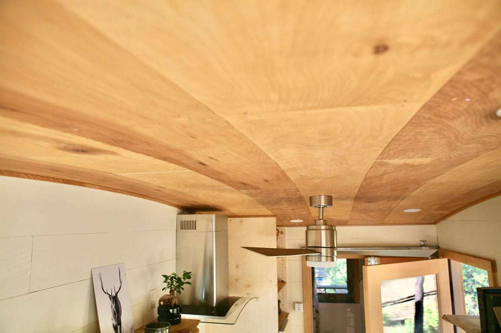 Curved Ceiling - McKenzie by Wood Iron Tiny Homes