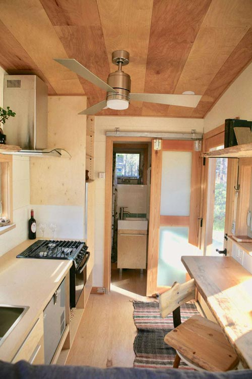 Tiny House Interior - McKenzie by Wood Iron Tiny Homes