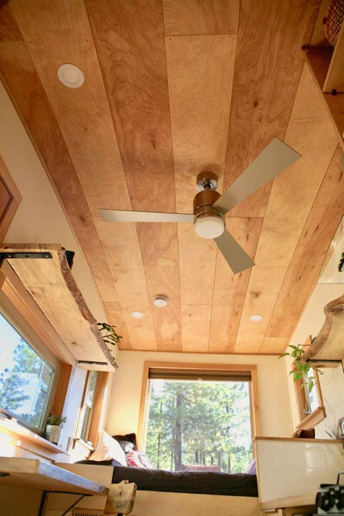 Ceiling Detail - McKenzie by Wood Iron Tiny Homes