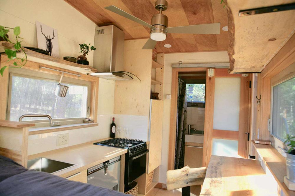Kitchen Window - McKenzie by Wood Iron Tiny Homes