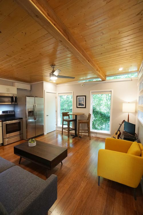 Interior View - Modern Dwell 16x26 by Kanga Room Systems