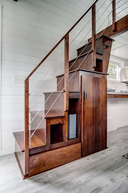 Storage Stairs - Rodanthe by Modern Tiny Living