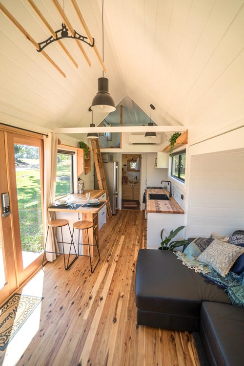 Tiny House Interior - Sojourner by Häuslein Tiny House Co