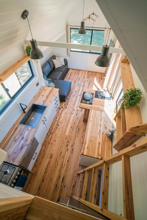 Cypress Flooring - Sojourner by Häuslein Tiny House Co