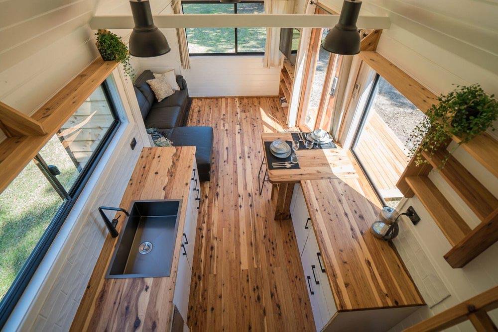 Galley Kitchen - Sojourner by Häuslein Tiny House Co